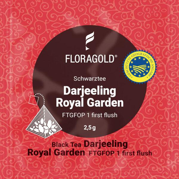 Darjeeling Royal Garden Darjeeling FTGFOP I first flush (Pyramid tea bag)
