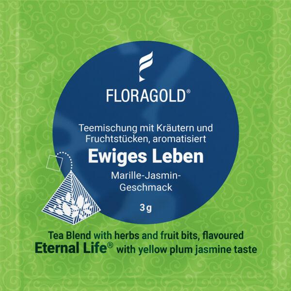 Eternal Life (Pyramid tea bag)