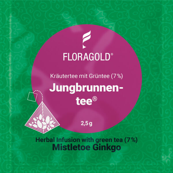 Mistletoe Ginkgo (Pyramid tea bag)