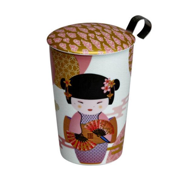 "Porcelāna krūze TEAEVE® ""New Little Geisha rose"""
