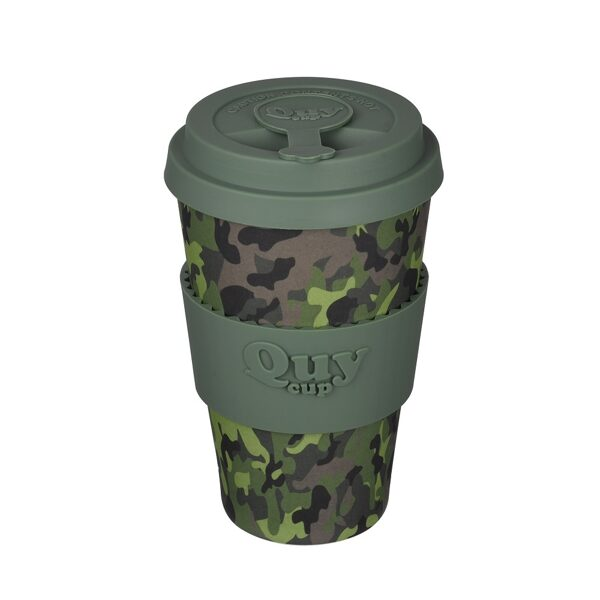 Bambusa krūze QUYCUP CAMOUFLAGE